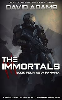 The Immortals: New Panama Cover